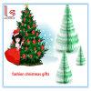 Almofada de memorando relativa à promoção da árvore de Natal e da almofada de notas do presente da forma da fruta