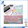Kuss-Schnitt-Vinylmaterieller bunter Tastatur-Aufkleber