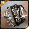 De Armband van het Leer van de Manier van juwelen, de Armband van de Namaakbijouterie (FB047)