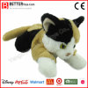 Gatto di calicò farcito realistico del giocattolo della peluche di ASTM