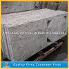 Partie supérieure du comptoir blanche de cuisine de granit de fleuve en stratifié de l'Inde de coutume