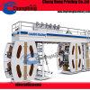 4 Machine van de Druk van Flexo van de Trommel van de Zakken van kleuren de pp Geweven Centrale