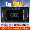 Audi A4のための車のDVDプレイヤーGPS土曜日の運行