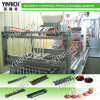 PLC Control Hard Candy와 Lollipop Combined Depositing Line (GDL600)