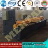 유압 깎는 기계 판금 절단기 QC12y-6X3200