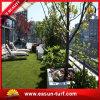 훈장 잔디를 정원사 노릇을 하는 정원을%s 자연적인 보는 합성 잔디