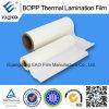 Thermische het Lamineren BOPP Film met de Lijm van EVA voor de Druk van de Compensatie