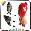 Les belles laines mignonnes chauffent le chapeau de Beanie avec le chapeau d'aileron d'oreille