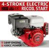 recul électrique de début d'arbre horizontal stationnaire de moteur d'Ohv d'engine d'essence 16HP