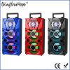 Alto-falante de madeira portátil Hi-Fi de 2.0 canais com Bluetooth / USB / SD / FM / Karaoke (XH-PS-711)