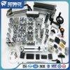 Perfil de aluminio anodizado natural estándar del En para la máquina industrial