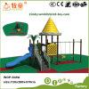 子供の屋外の運動場のための振動そしてスライドをとかすこと