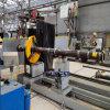Workshop/voor de kust/Prefabrication van de Leidingen van de Vervaardiging van de Spoel van de Pijp van de Scheepsbouw Machine