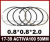 Activa 100 parti del motociclo di alta qualità dell'anello di stantuffo