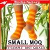 Kleid-kundenspezifische Fußball-Bambus-Socke der Qualitäts-Jacquardwebstuhl-Männer