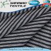 Non l'indigo d'extension a barré le tissu de denim teint par filé simple du Jersey