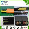 PVC 유연한 편평한 기중기 상승 케이블 12*0.75mm2