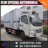 Vrachtwagen van het Vervoer van het Vlees van de Diepvriezer van de Vrachtwagen van Forland 4mt de Koel