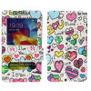 PU Leather Caso Flip Cover de dos Window Colorful para S6