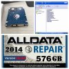 Software do auto reparo de Alldata e de Mitchell instalado em 1tb HDD