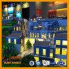 쇼핑 공원 모형 또는 고품질 아BS 공공 건물 모형 또는 건물 모형 또는 만드는 건축 모형 또는 표시의 소형 모형 또는 모든 종류