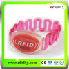 125kHz Multi Color Custom Soft PVC RFID Wristband