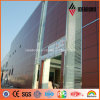 사무실 Building Projects 4mm Outside Aluminum Composite Panel