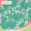 Tessuto verde a buon mercato africano indiano all'ingrosso del merletto del ricamo