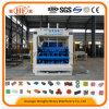 Cemento de gran tamaño fabricación de ladrillos de hormigón Máquina de ladrillo Máquina Qt12-15D con la máquina del control inteligente del PLC Interact Humano