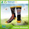 Оптовая изготовленный на заказ сублимация спорта чулков и напечатанные носки с картиной звезды