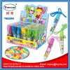 Pluma colorida del juguete promocional con el caramelo