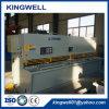 Machine de cisaillement hydraulique de troisième génération de type européen (QC12Y-8X4000)