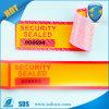 Nietige Etiket van de Band van de Veiligheid van de Stamper van de Container van het Bewijs van de stamper het Duidelijke