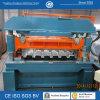 Decking galvanizado do assoalho que dá forma à maquinaria