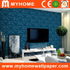 Binnenlands 3D pvc Vinyl Wallpaper voor Office