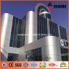 Pannelli di rivestimento di alluminio del rivestimento esterno della parete PVDF dell'edilizia di governo