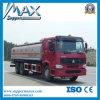 HOWO ChineesVrachtwagen van de Tankwagen van de Levering van de Olie van de Vrachtwagen van de Tanker van de Brandstof van 371 PK de Juiste/Linker Drijf