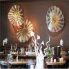 De mooie Schotel van het Glas van de Decoratie van de Muur