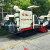 クローラータイプもみ米のコンバイン収穫機