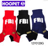 Fbi duro Letter Dog Coats per Winter