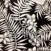 Habotai de seda impressa no Big Leaf Patter