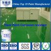 Pintura resistente a la corrosión del suelo de la resina de epoxy de Hualong