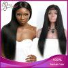 膚触りがよいStraight 1b#ブラジルのVirgin Hair Glueless Full Lace Wig