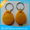 chave 13.56MHz para o Tag impermeável da proximidade RFID Keyfob do Tag da entrada de porta RFID