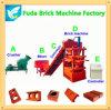 Kleiner Produktionszweig Sy1-10 automatische hydraulische Lehm-Sicherheitskreis-Ziegelstein-Maschine