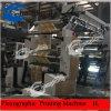 6 de Machine van de Druk van het Document van het Glas van de kleur/de Dunne Machine van de Druk van het Document van het Glas