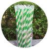 Pajas de beber de papel llenas individuales de la vendimia para la fuente del partido