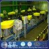 Matériel dissous de flottation à air avec des plaques de lamelle pour l'installation de traitement d'eaux d'égout