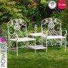 Красивейшая белая таблица сада с комплектом Paito стула