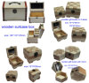 パッケージのためのカスタムギフトの木箱か宝石類または腕時計